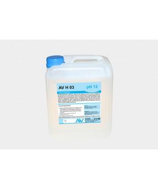 Жидкость для профессиональных посудомоечных машин AV H 03